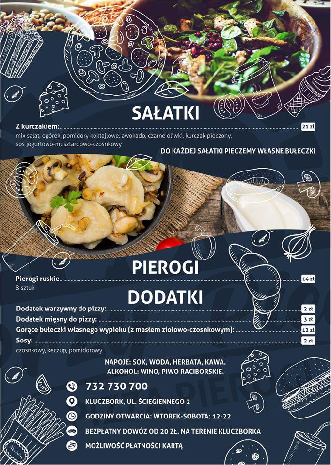 Przy Piecu Kluczbork - Pizza & Pierogi MENU