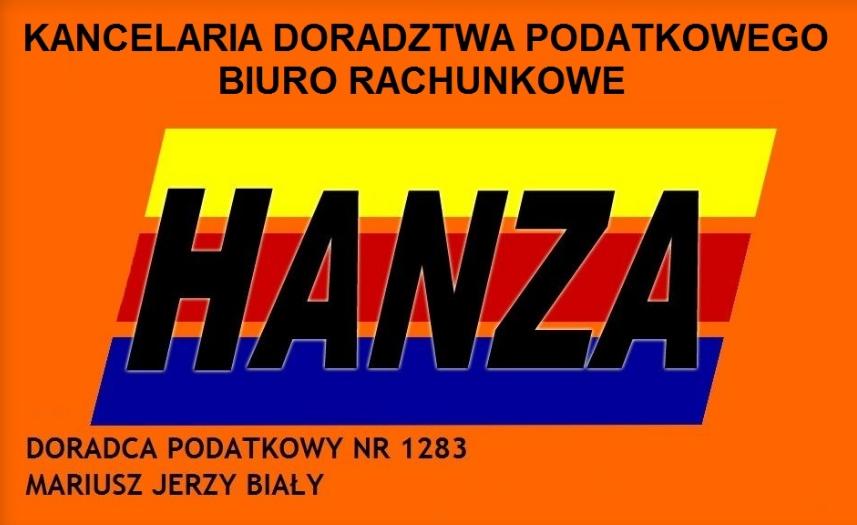 Biuro rachunkowe Kluczbork - BR Hanza Mariusz Jerzy Biały
