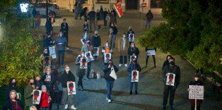 Kluczbork: Protesty po orzeczeniu Trybunału Konstytucyjnego